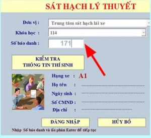 Quy trình thi bằng lái xe oto tại Hà Nội